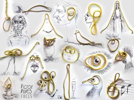 Ilustraciones en 3D que están a tu alcance - Gomas elásticas