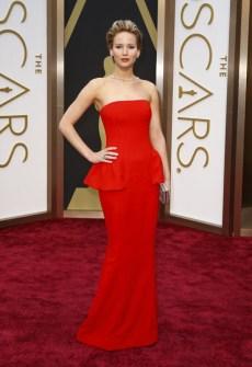 Las Mejor Vestidas Oscar 2014 - Jennifer Lawrence