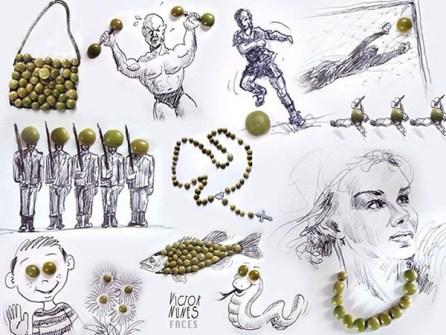 Ilustraciones en 3D que están a tu alcance - Lentejas