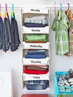 Trucos para Organizar Fácil tus Cosas - Organizar la ropa por días