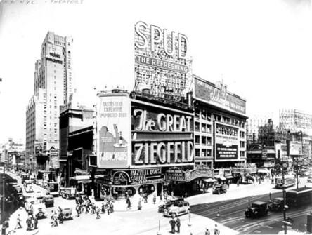 Fotografías Vintage que ya no se volverán a Repetir - Broadway en los años 50
