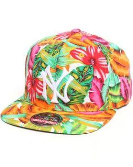 Gorra Plana New York Yankees tropical