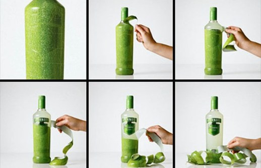 El Packaging con Mejor Diseño - Licor de Manzana