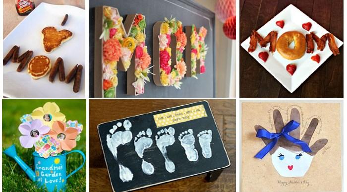 22 Manualidades Originales para el Día de la Madre.