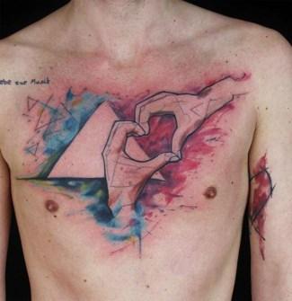 Tatuajes Acuarela - Lausbub Tattoo, Baden-Wurrttemburg, Alemania