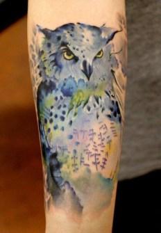 Tatuajes Acuarela - Richard García - Legacy Arts Tattoo, Dallas, Texas