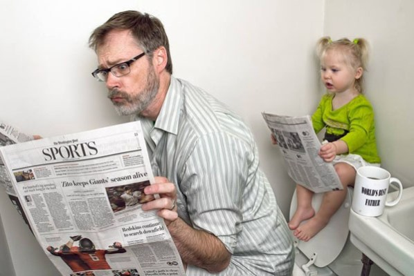 ¿Te implicas tanto en los Juegos de tus Hijos?