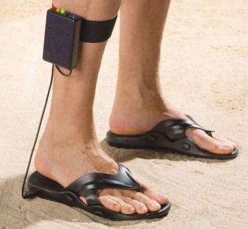 Gadgets de Playa - Sandalias detector de metales