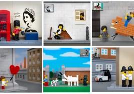 ¿Quieres ver Cómo sería la Fusión de Banksy y LEGO?