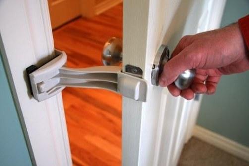 Seguridad de puertas para mascotas