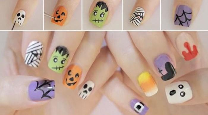 8 Maneras de Pintarte las Uñas para Halloween.