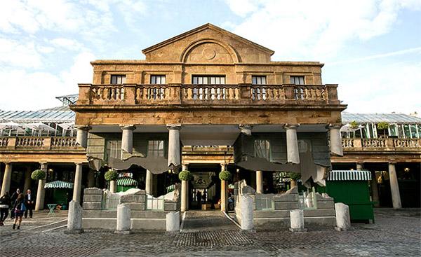 Ilusión Arquitectonica en Covent Garden