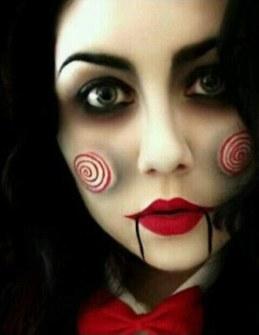 Maquillaje de Halloween - Jigsaw