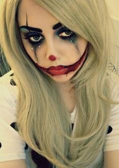 Maquillaje de Halloween - Payaso triste