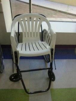Inventos Caseros Rudimentarios que Realmente Funcionan - Silla de ruedas
