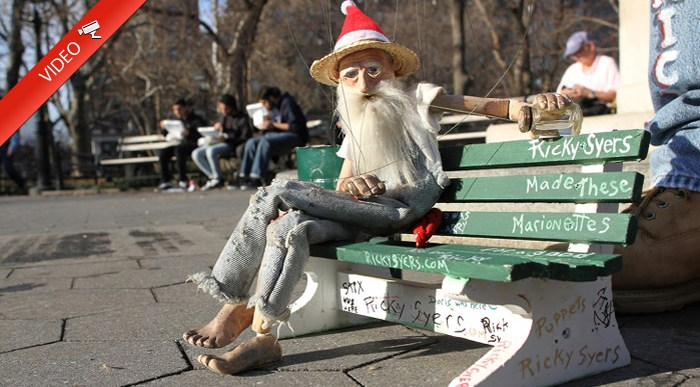 La Marioneta más Entrañable del Mundo está en Manhattan.