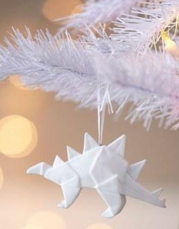 Adornos de Navidad de Origami