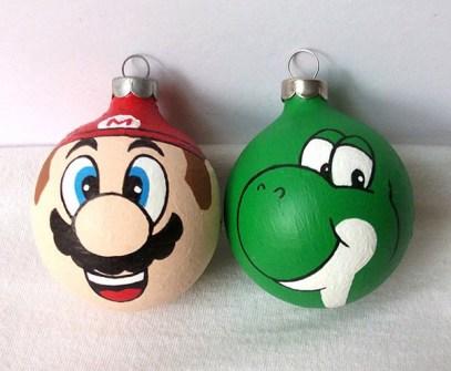 Adornos de Navidad Super Mario