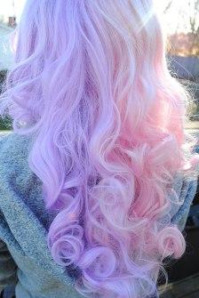 Colores en el pelo