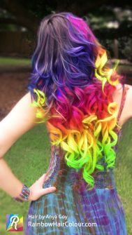 Melenas de colores