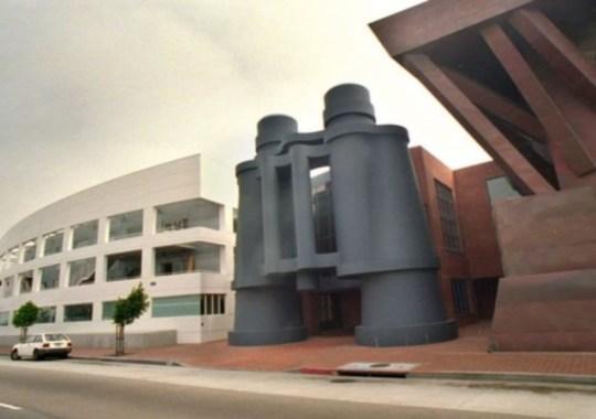 Binoculars Building. Los Ángeles.