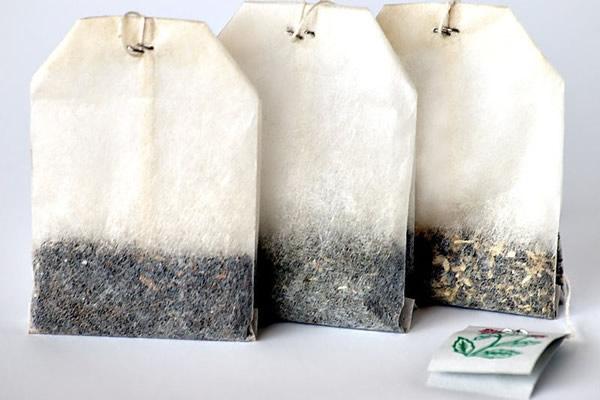 Bolsitas de té como un ambientador