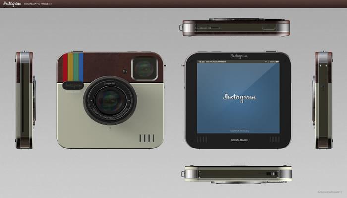 Cámara de fotos SocialMatic. Nueva Tecnologia