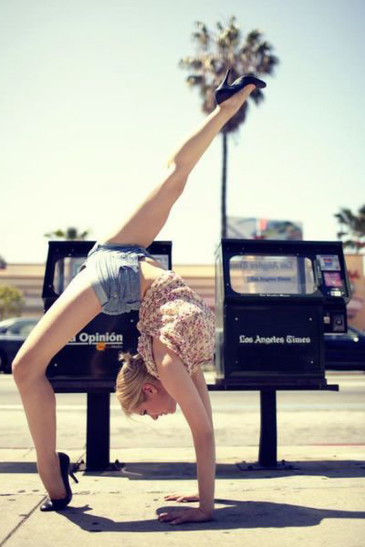 Chicas Increiblemente Flexibles