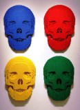 Lego Calaveras Colores.
