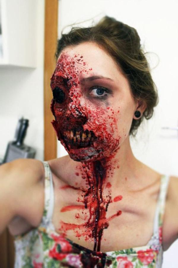 Maquillaje de Terror
