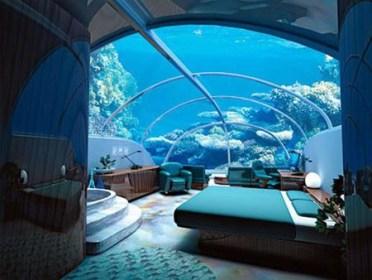 Hotel Bajo el Mar en Fiji. Habitación