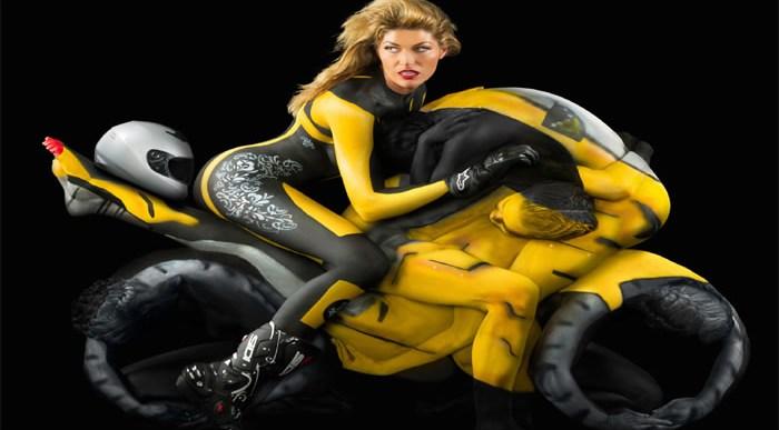 Ejemplos impresionantes de Body Art 3D.