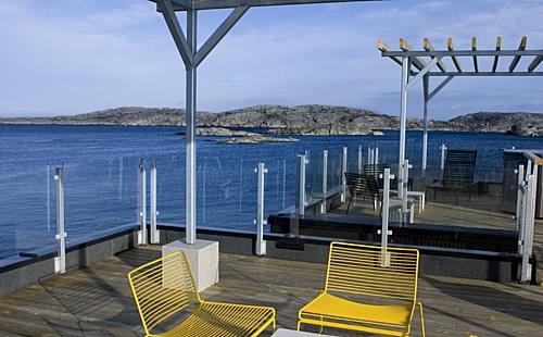Hotel Flotante en Suecia.