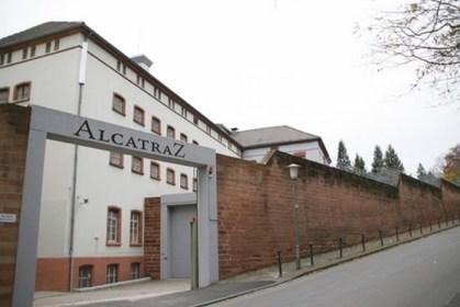 Hotel cárcel en Alemania. Exterior.