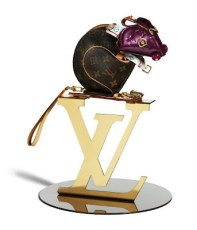 Ratón Louis Vuitton por Billie Achilleos