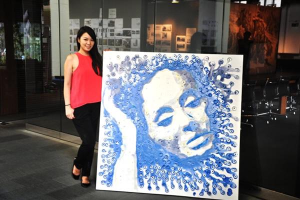 Retrato de Adele por Hong Yi