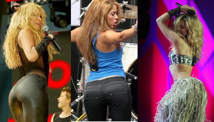 Shakira trasero.