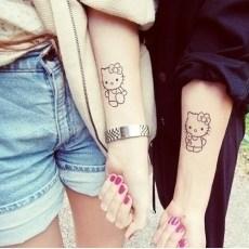Tatuajes para amigas