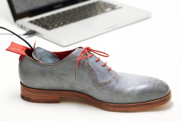 Zapatos con GPS Inteligentes