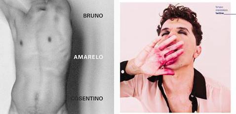 Capas dos discos Amarelo (2015) e Babies (2016)