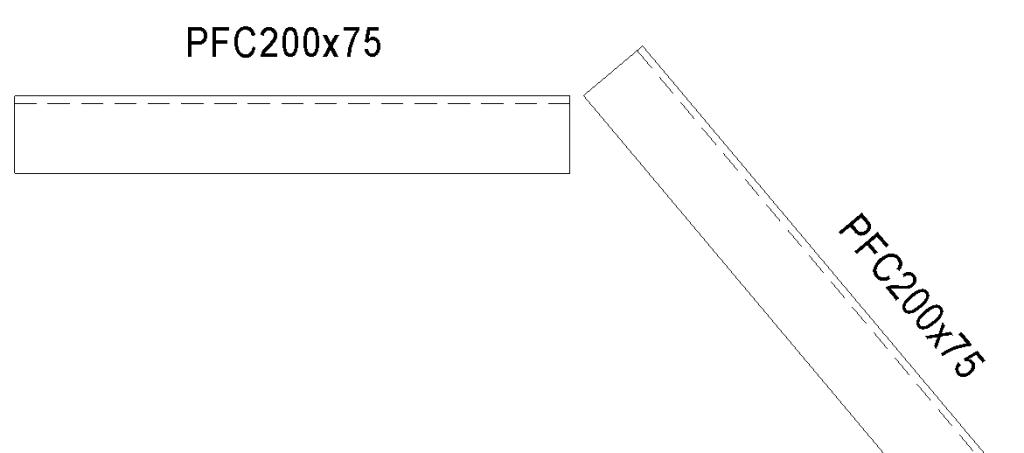 mitered beam joint BeamJoint_Start