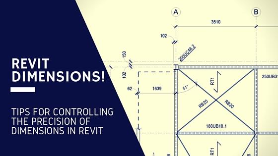 Revit Dimension precision