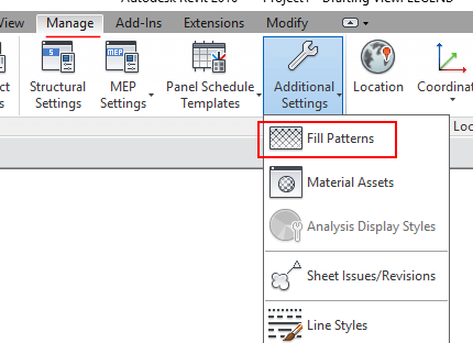 Revit Hatch Patterns