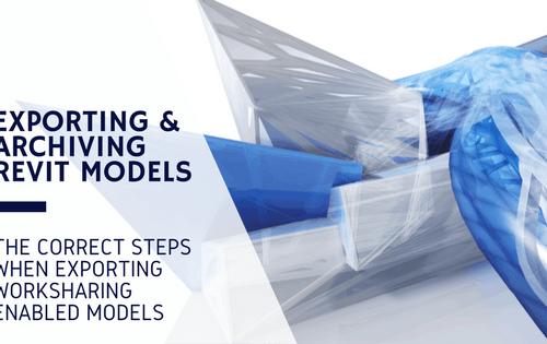 export revit models