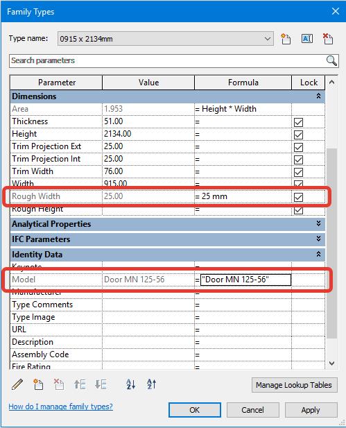REVIT公式和条件语句–了解REVIT公式!插图(2)