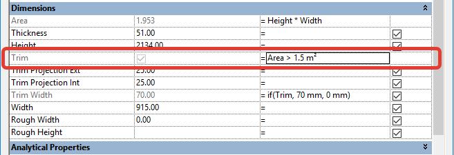REVIT公式和条件语句–了解REVIT公式!插图(4)