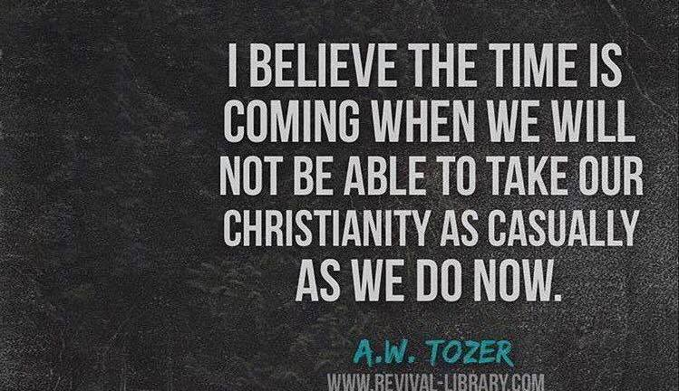 On Casual Christianity