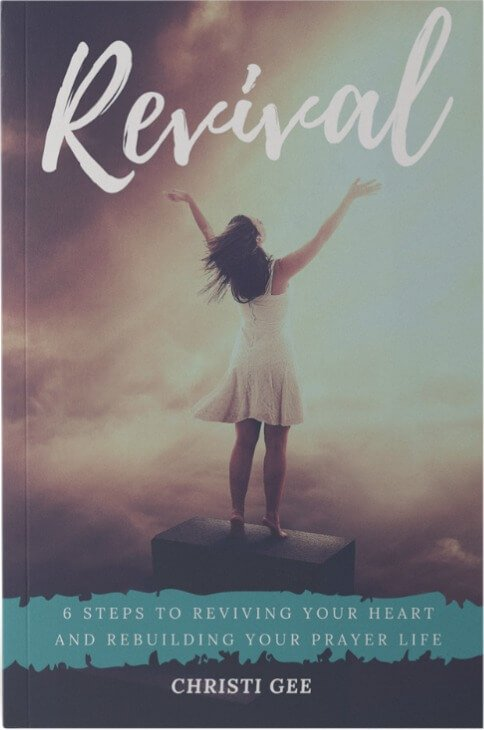 Revival: 6 Steps to Revive Your Heart and Rebuild Your Prayer Life.   If you need revival in your prayer life, this prayer journey is for YOU!