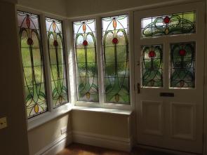 Door 14 and hall windows