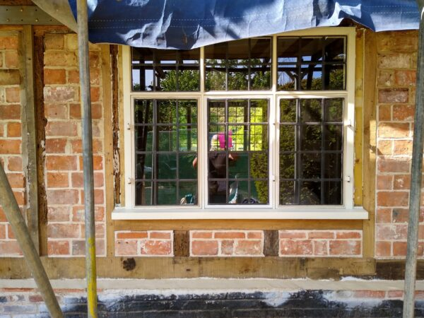 Timber frame property new window